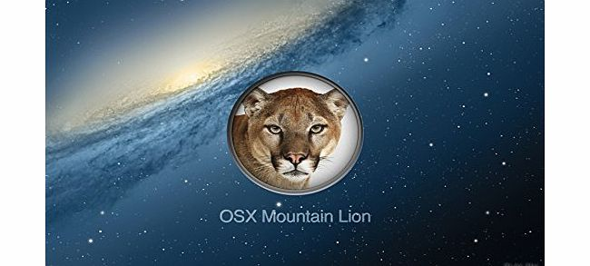 OS X Mountain Lion 10.8 Full Install or Upgrade Bootable 8GB USB Stick [Not DVD / CD]